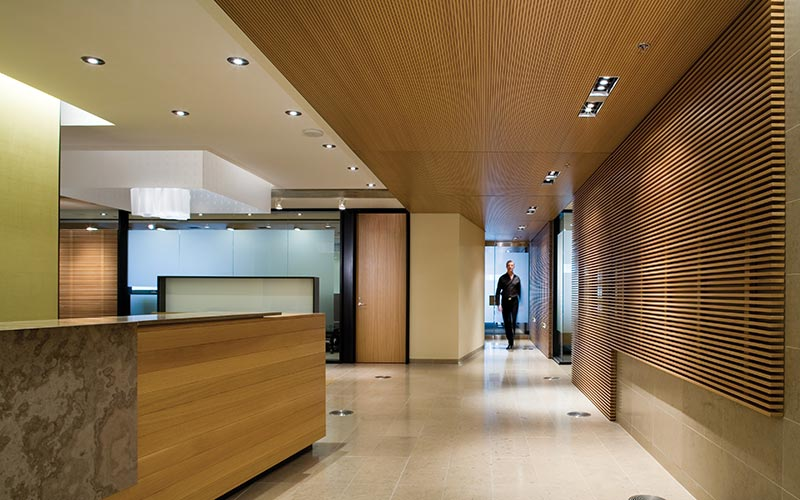 Aquilon capital corporate offices taylorsmyth architects for Corporate office interior design