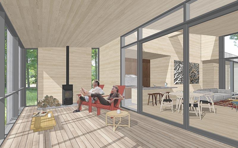 Bigwin Island Cottages Taylor Smyth Architects